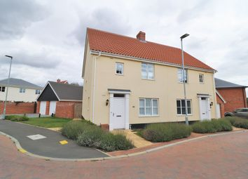 Thumbnail 3 bed semi-detached house for sale in Wilfreds Way, Brightlingsea, Colchester