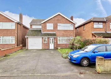 Thumbnail 5 bed detached house for sale in Mill Close, Sapcote, Leicester