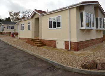 Thumbnail 2 bed mobile/park home for sale in Long Woods, Pathfinder Village, Exeter
