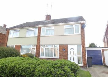 Thumbnail 3 bed semi-detached house for sale in Churchill Avenue, Ipswich, Suffolk