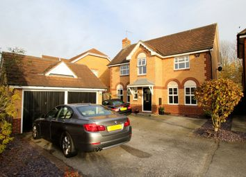 Thumbnail 4 bed detached house for sale in Gillercombe Close, Gamston