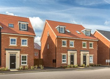 "Thumbnail 4 bed semi-detached house for sale in ""Helmsley"" at Carters Lane, Kiln Farm, Milton Keynes"