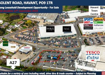 Thumbnail Commercial property for sale in Development Land, Solent Road, Havant