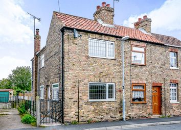 Thumbnail 2 bed end terrace house for sale in Front Street, Laxton, Goole