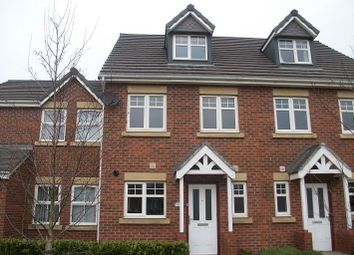 Thumbnail 4 bed town house for sale in Regency Square, Warrington
