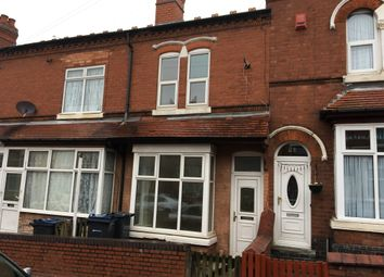 Thumbnail 3 bed terraced house to rent in Osborne Road, Handsworth, Birmingham