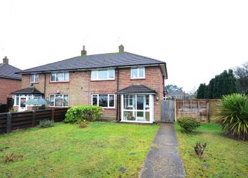Thumbnail 3 bed semi-detached house to rent in Highland Road, Camberley