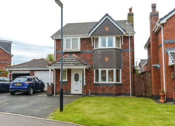 Thumbnail 4 bed detached house for sale in Middlewood Close, Eccleston, Chorley