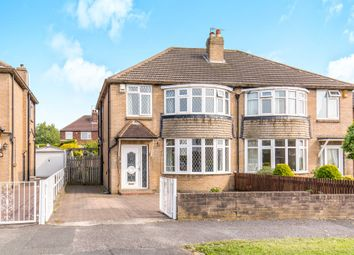 Thumbnail 3 bed semi-detached house for sale in Carr Manor Drive, Meanwood, Leeds