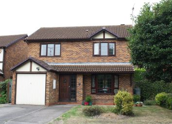 Thumbnail 4 bedroom detached house for sale in Beaver Way, Woodley, Reading, Berkshire
