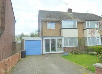 Thumbnail 3 bedroom semi-detached house to rent in Kerrs Way, Wroughton, Swindon