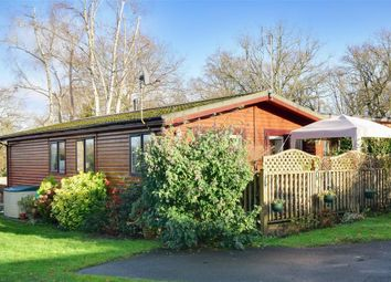 Thumbnail 3 bed mobile/park home for sale in Edgeley Park, Farley Green, Guildford, Surrey