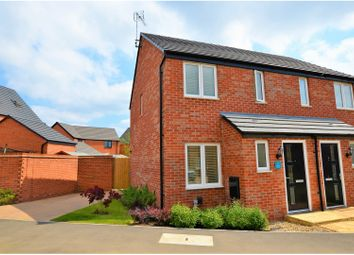 Thumbnail 2 bed semi-detached house for sale in Hever Close, Northampton