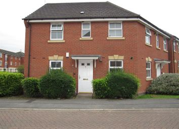 Thumbnail 2 bedroom maisonette for sale in Harrop Close, Blaby, Leicester