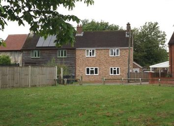 Thumbnail 3 bed semi-detached house for sale in Tottington Road, Thompson, Thetford