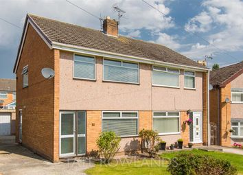 Thumbnail 3 bed semi-detached house for sale in Shaftesbury Drive, Flint