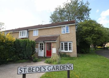Thumbnail 1 bedroom end terrace house to rent in St. Bedes Gardens, Cherry Hinton, Cambridge