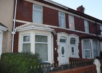 Thumbnail 4 bedroom terraced house for sale in Saville Road, Blackpool