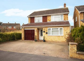 Thumbnail 3 bed detached house for sale in Linden Crescent, Grove, Wantage
