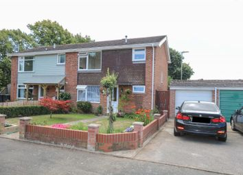 Thumbnail 3 bed semi-detached house for sale in Eastwood Close, Hayling Island