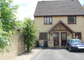 Thumbnail 2 bed semi-detached house to rent in Deer Park, Witney, Oxfordshire