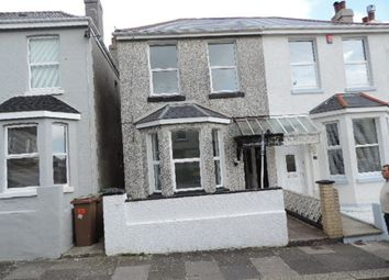 3 bed terraced house to rent in Cedarcroft Road, Plymouth PL2