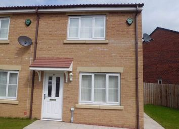 Thumbnail 3 bed end terrace house to rent in Fellway, Pelton Fell, Chester Le Street, Durham