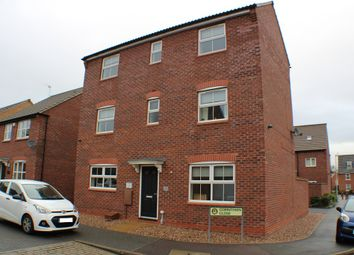 Thumbnail 4 bed detached house to rent in Corinthian Close, Hucknall, Nottingham
