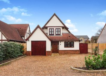 Thumbnail 4 bed detached house for sale in Back Road, Murrow