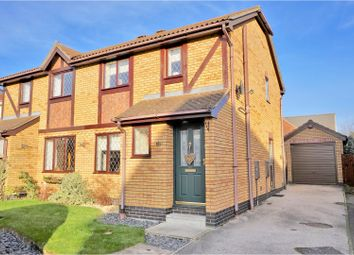 Thumbnail 3 bed semi-detached house for sale in Wentworth Drive, Dunholme
