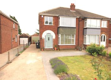 Thumbnail 3 bed semi-detached house for sale in Sheffield Road, Warmsworth, Doncaster