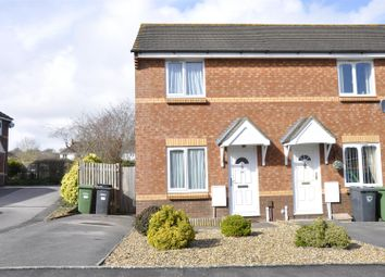 Thumbnail 2 bed end terrace house to rent in Rews Meadow, Pinhoe, Exeter