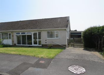 Thumbnail 2 bed semi-detached bungalow for sale in Larch Crescent, Swiss Valley, Llanelli