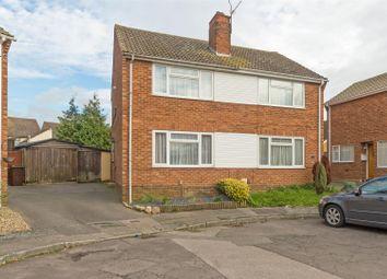 Thumbnail 2 bed semi-detached house for sale in Dobbie Close, Milton Regis, Sittingbourne