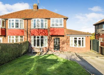 The Crescent, Green Hammerton, York YO26. 3 bed semi-detached house for sale