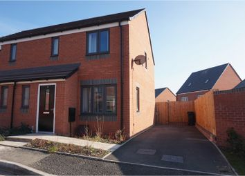 Thumbnail 3 bed semi-detached house for sale in Daphne Pool Close, Dudley
