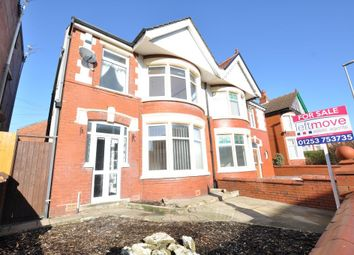 Thumbnail 3 bed semi-detached house for sale in Reads Avenue, Blackpool, Lancashire