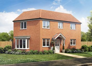 "Thumbnail 3 bed detached house for sale in ""The Daulby"" at Bellona Drive, Peterborough"