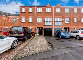 Thumbnail 3 bed town house for sale in Eaton Drive, Rugeley