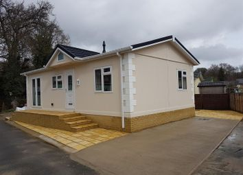 Thumbnail 2 bed mobile/park home for sale in Oaklands, Hook Common, Hook