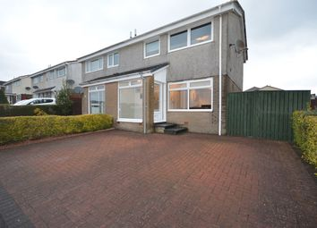 Thumbnail 3 bed semi-detached house for sale in Dalry Road, Stewarton, Kilmarnock
