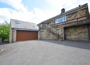 Thumbnail 3 bedroom detached bungalow for sale in Nottingham Road, Tansley, Matlock