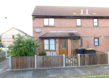 Thumbnail 1 bed terraced house to rent in Columbine Close, Bedford