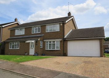 Thumbnail 4 bed detached house for sale in Shepperton Close, Great Billing, Northampton
