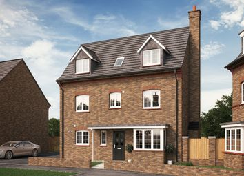 "Thumbnail 4 bed detached house for sale in ""The Bromham"" at Park Crescent, Stewartby, Bedford"