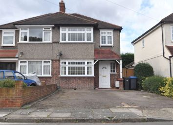 Thumbnail 3 bed semi-detached house to rent in Barnsbury Close, New Malden