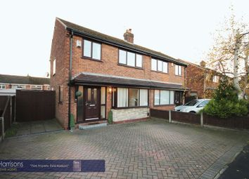 Thumbnail 3 bed semi-detached house for sale in Cumberland Road, Atherton, Manchester, Greater Manchester.