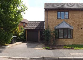 Thumbnail 3 bed semi-detached house to rent in St. Marys Close, Marston Moretaine, Bedford