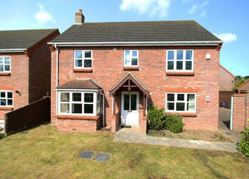 Thumbnail 4 bed detached house for sale in Church Close, Holbeach St. Marks, Holbeach, Spalding