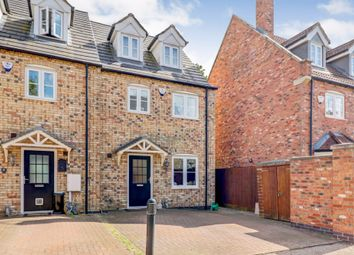 Thumbnail 4 bed end terrace house for sale in Oak Square, Crowland, Peterborough